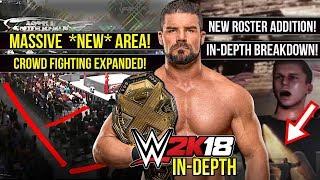 WWE 2K18 News: MASSIVE NEW FIGHTING AREA!, NEW ROSTER REVEAL, BOBBY ROODE & More! [#WWE2K18]