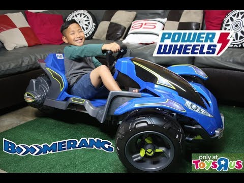 Power Wheels Boomerang 12V Ride-on Drifting Trike Fisher Price - Mattel
