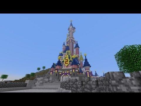 spectacle sur minecraft la reine des neiges