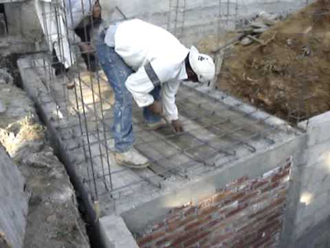 Cimentacion y cisterna de una casa youtube - Construccion de una casa ...