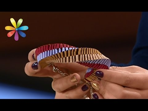 Делаем модные 3-D украшения из лент своими руками! – Все буде добре. Выпуск 976 от 02.03.17