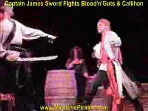 Maritime Pirates Stage Sword Fight