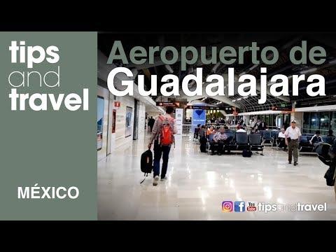 Recorrido AEROPUERTO ✈️🛫de GUADALAJARA, MEXICO🇲🇽 + TIENDAS!!-TipsandTravel