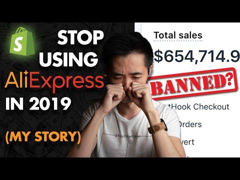 [Banned?] Aliexpress Alternative For Shopify Dropshipping 2019 (eCommerce Guide) thumbnail