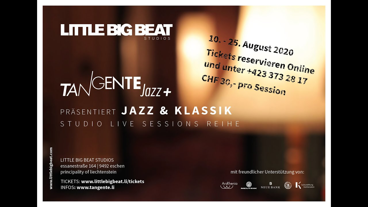 JAZZ & CLASSIC - STUDIO LIVE SESSIONS - TEASER