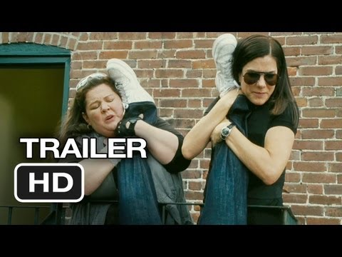 The Heat Official Trailer #1 (2013) - Sandra Bullock Movie HD