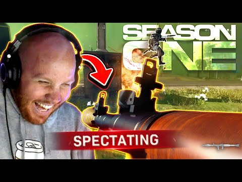 I SPECTATED SOLOS BUT IT WAS SEASON 1 OF WARZONE...