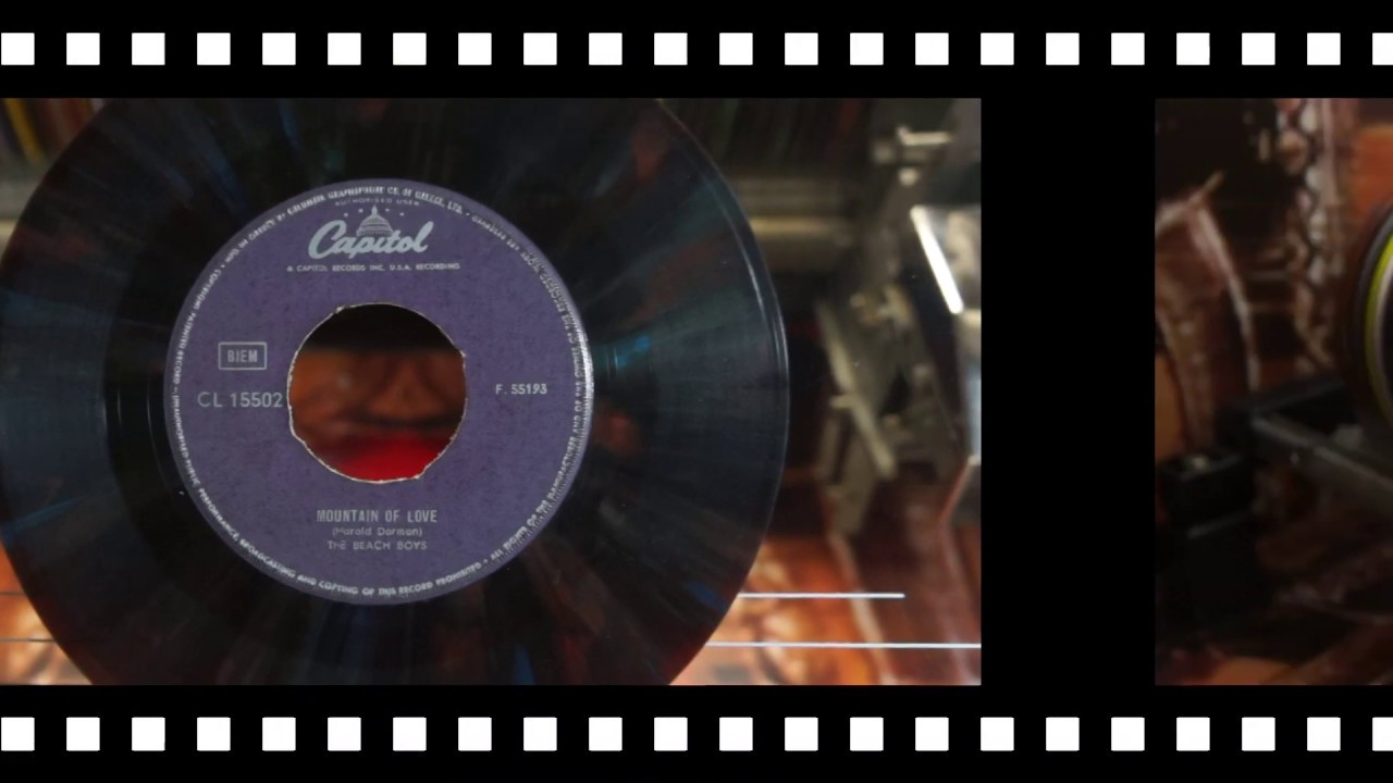 Jonnie's Jukebox Plays: Mountain Of Love -  The Beach Boys 1965 Multicolour Record