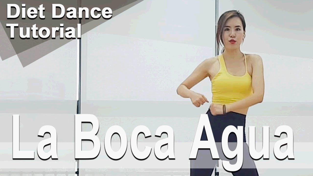 [Tutorial] La Boca Agua. Abraham Mateo. Choreo by Sunny. SunnyFunnyFitness. Diet Dance. 홈트.댄스다이어트.