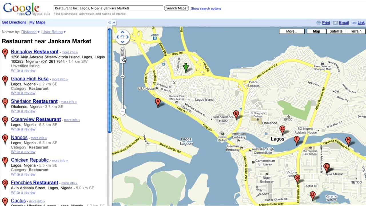 Google Maps Nigeria Getting Started Youtube
