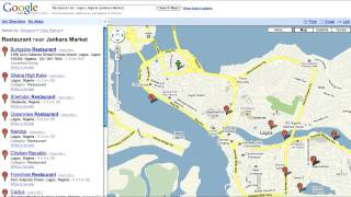 Google Maps Nigeria - Getting Started