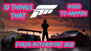 Top 10 Things That Need to Happen in Forza Motorsport 8