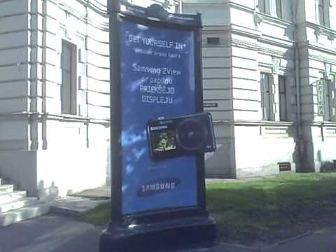 Samsung 2view outdoor ad