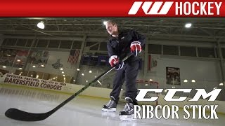 ccm ribcor reckoner on ice stick review