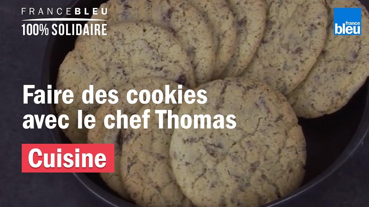 Un recette facile de cookies par le chef Thomas