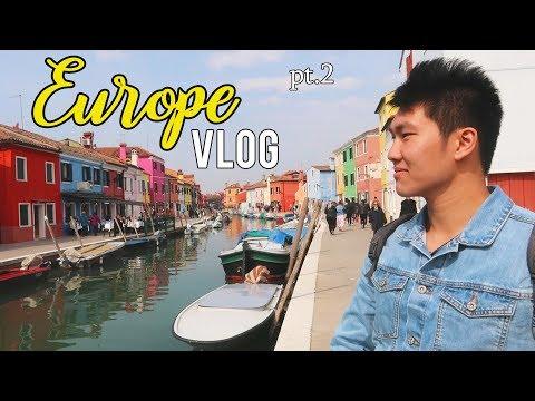 EUROPE VLOG! // Venice X Rome   Pt.2