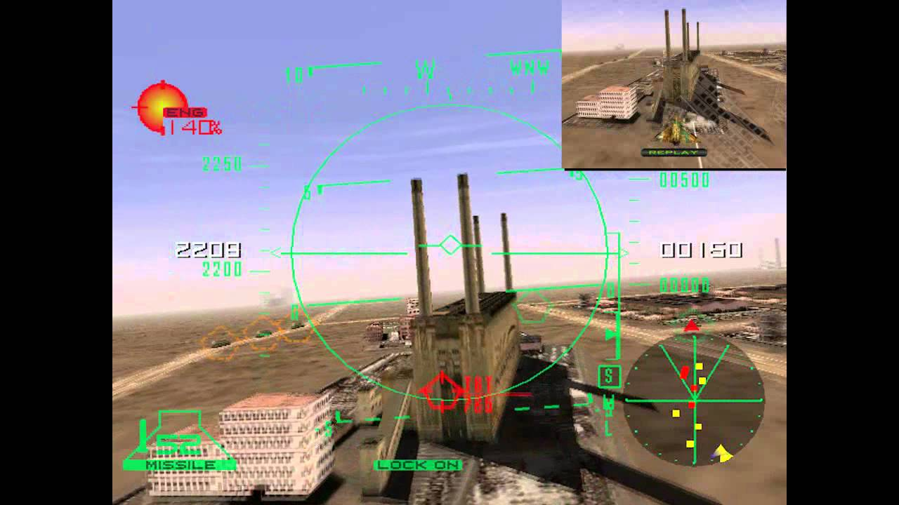 Airforce Delta Dreamcast