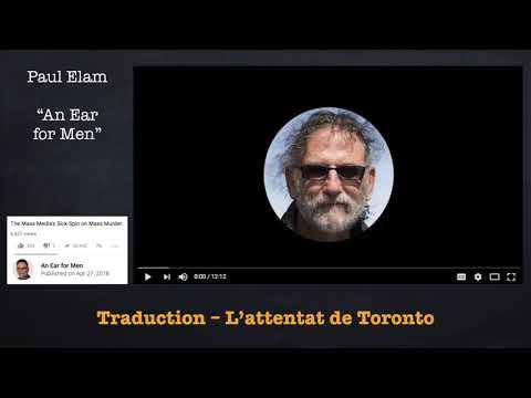Paul Elam sur l'attentat de Toronto (Traduction FR)