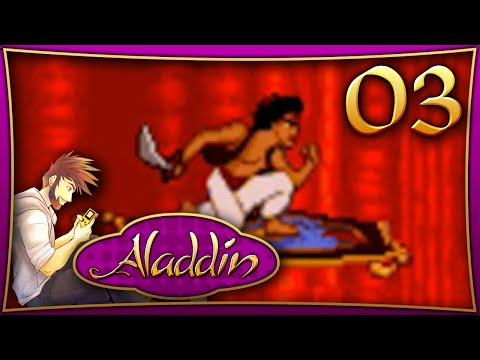 "Let's Play Aladdin [Genesis] Part 03 ""Hades, Carpet Ride, and The Lamp!"""