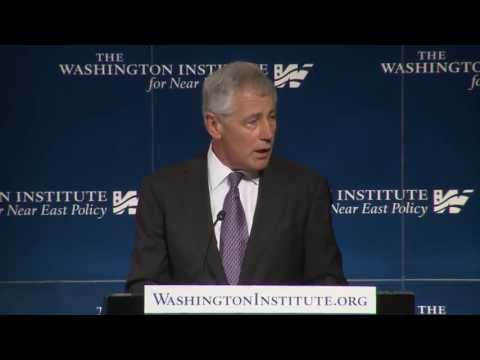 Secretary of Defense Chuck Hagel: U.S. Defense Policy in the Middle East