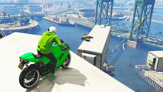 HARDCORE BIKE PARKOUR (GTA 5 Funny Moments)(GTA 5 Funny Moments playing GTA 5, GTA 5 Races, GTA 5 Stunts, GTA 5 Videos & more! Enjoyed GTA 5 Funny Moments? ▻ Subscribe: http://goo.gl/RnE9oB ..., 2015-06-03T15:00:02.000Z)
