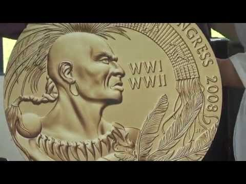 Akwesasne Code Talkers Medal of Honor Ceremony  5-28-16