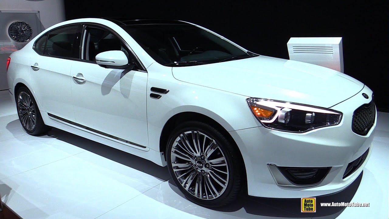 2016 Kia Cadenza Limited Exterior And Interior Walkaround Detroit Auto Show