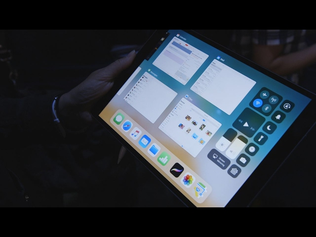 10.5-inch iPad Pro and iOS 11 first look