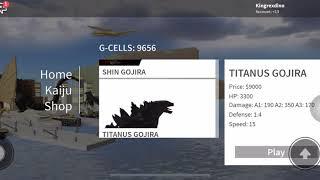 Roblox Kaiju Online : Godzilla 2019