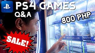 PS4 Brand New Games SALE!!! Q&A part 2 - jccaloy