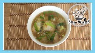 Shrimp Stuffed Cabbage Soup Recipe