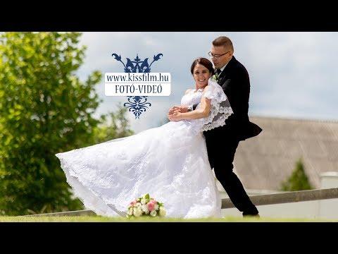 Adrienn és Tamás esküvői felvételei (Rózsakő Étterem, Kisvárda)