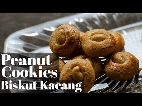 Easy Peanut Cookies / Biskut Mazola