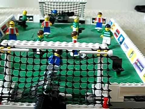 Lego Soccer Stadium Review - YouTube