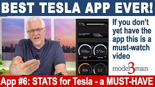BEST TESLA APP - A MUST-HAVE for Tesla Owners. #1 Tesla App (for iPhones) choice