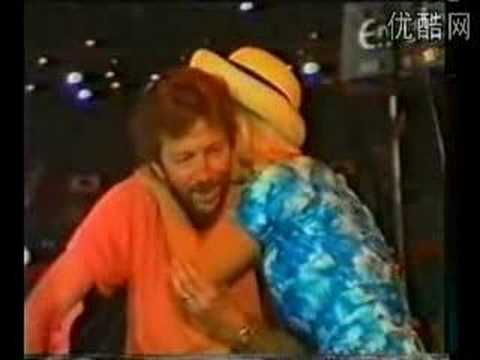 Funny Clapton Interview 1986 - Part Two