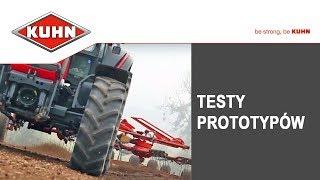 TESTY prototypów KUHN, maszyny rolnicze