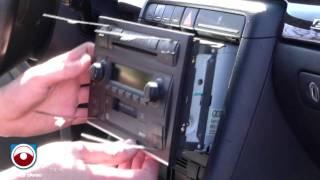 radio removal audi a4 s4 2002 2006 with symphony ii radio