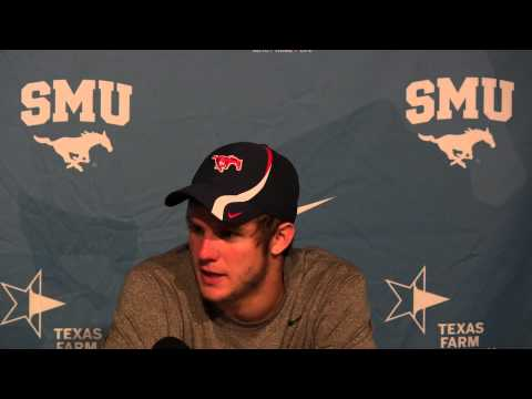 VIDEO: SMU Football Garrett Gilbert Postgame - Sept. 12, 2012
