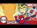 Spidey, Ant-Man & Wasp Face Cat-a-clysm! | Marvel Super Hero Adventures - Evil Mittens  | SHORT