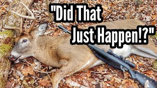 Muzzleloader BREAKS While Buck BEDS DOWN! Public Land Deer Hunting