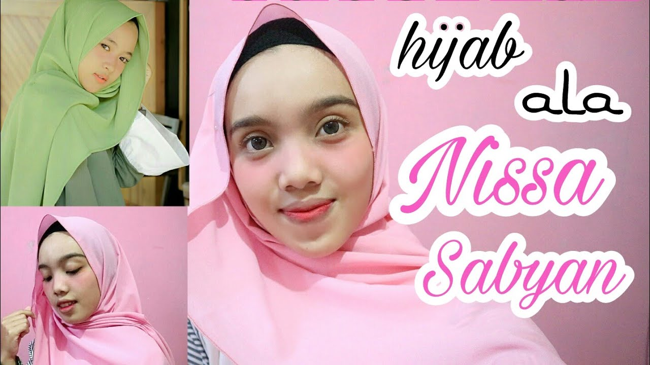 tutorial hijab pashmina ala nissa sabyan - 3 style tutorial - youtube