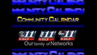 Community Calendar 8/13/18 Part 2