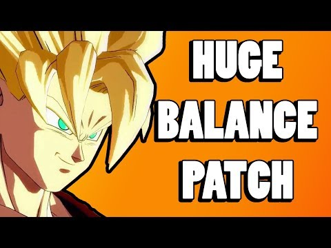 HUGE BALANCE PATCH IS COMING TO DRAGONBALL FIGHTERZ