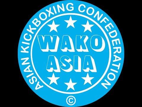 Asian Kickboxing Confederation (WAKO ASIA) Championships 2018