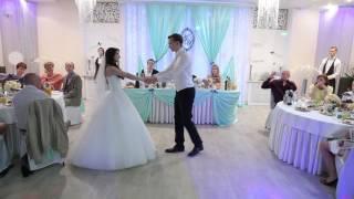 Медленный свадебный танец. Игорь и Анна