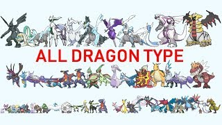All Dragon Type Pokemon From Smallest to Biggest