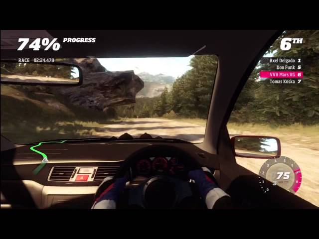 Forza Horizon Rally Beaumont stage 3