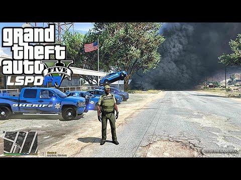 GTA 5 LSPDFR 0.3.1 - EPiSODE 103 - LET'S BE COPS - SHERIFF PATROL (GTA 5 PC POLICE MODS) TORNADO