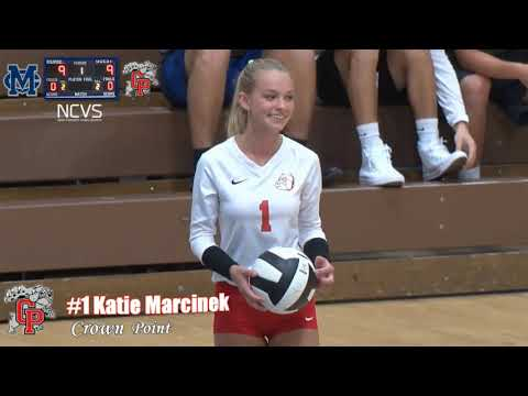 Volleyball (Crown Point vs. Michigan City) 2018